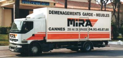Déménageur Cannes Mira