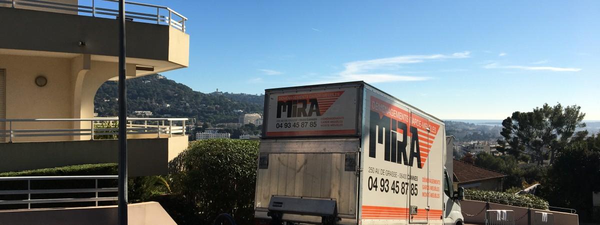 Prestations variées déménageur Cannes, Mougins